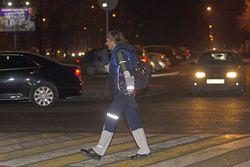 Изменения с 1 июля 2015 года: световозвращающие элементы на пешеходах; обгон на нерегулируемых переходах запрещен